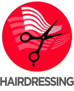 ICON title HAIRDRESSING